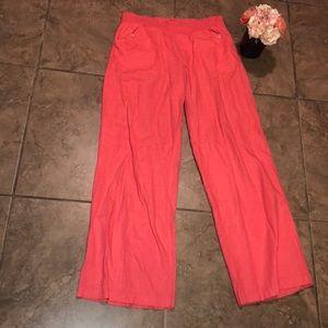 Jolt Juniors Linen Salmon Pants Size 13